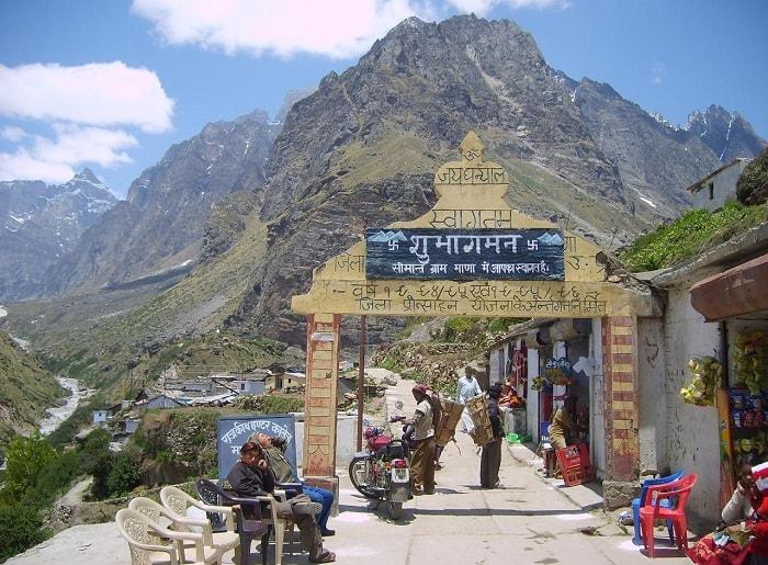 Mana Village, Badrinath