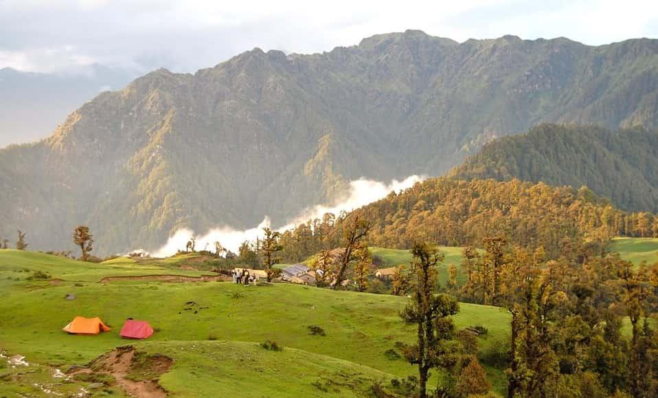 Panwali Kantha, near Kedarnath Wildlife Sanctuary
