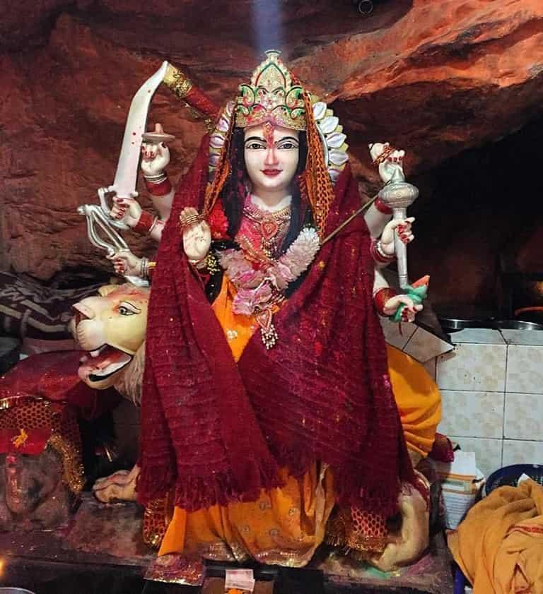 Kasar Devi Temple Inside