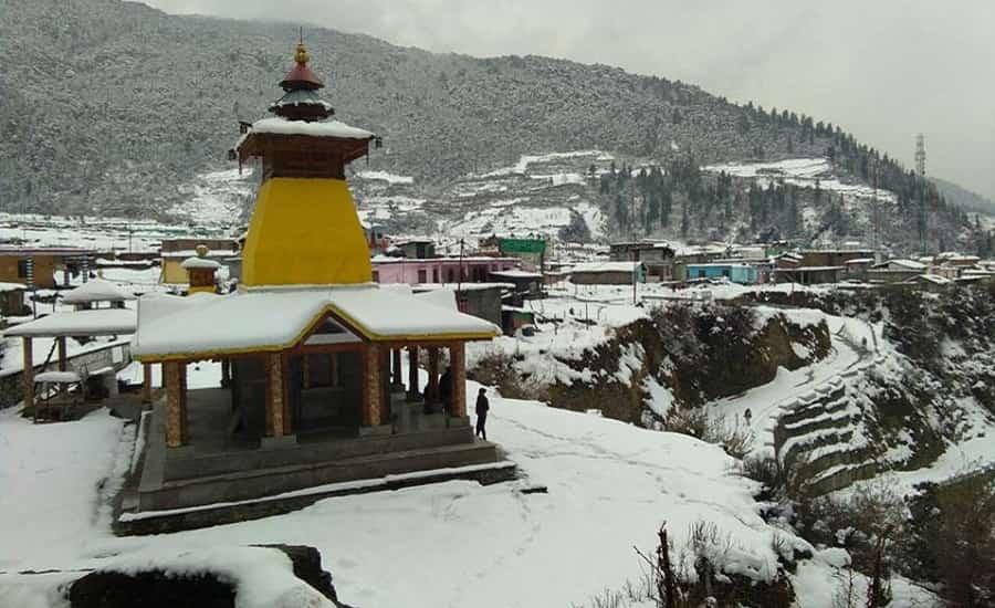 Maa Yamuna Temple Village Kharsali