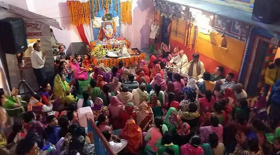 Celebrating Narsingh Jayanti at Shri Narsingh Mandir, Joshimath