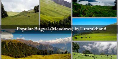 Popular Bugyal (Meadows) in Uttarakhand