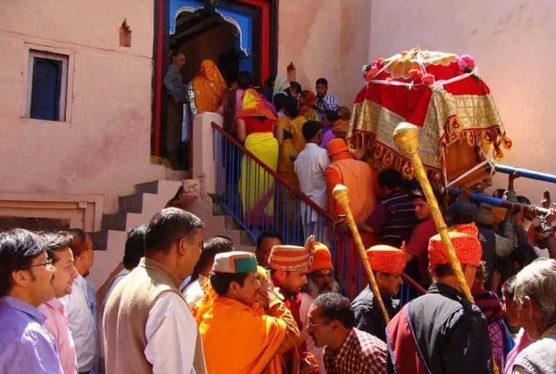 Badrinarayanji doli at joshimath
