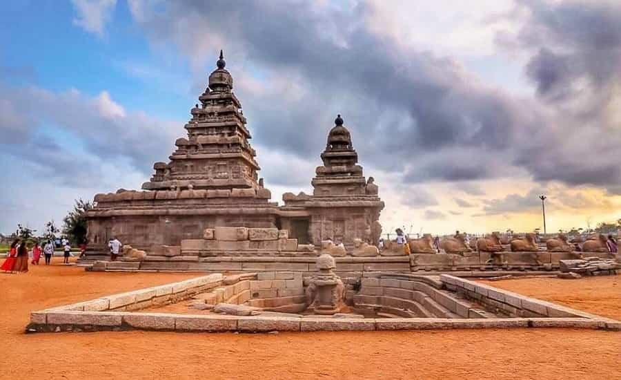 Shore Temple, Mahabalipuram, Tamil Nadu