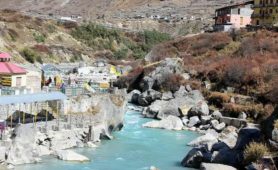 Alaknanda River at Badrinath