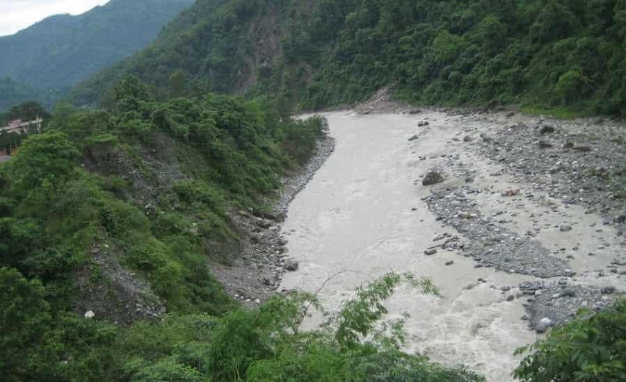 Gaula River in Haldwani