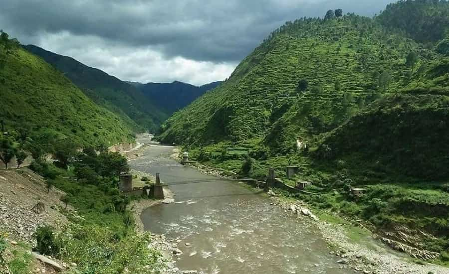 Kosi River, Almora, Uttarakhand