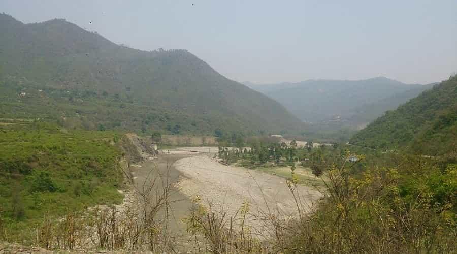 Nayar River, Banghat, Pauri