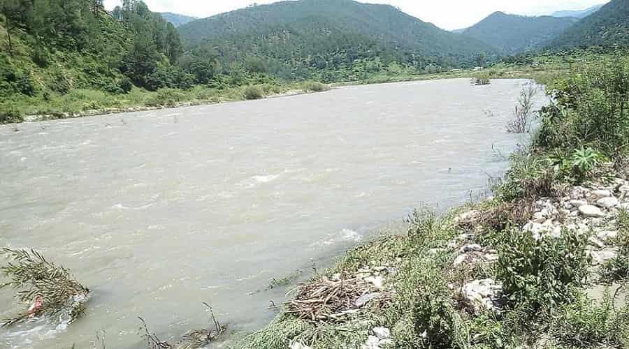 Ramganga River at Chaukhutia