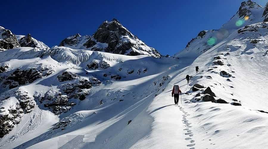 Bandar Poonch Glacier
