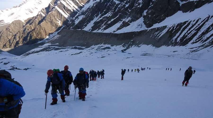 Dokriani Glacier