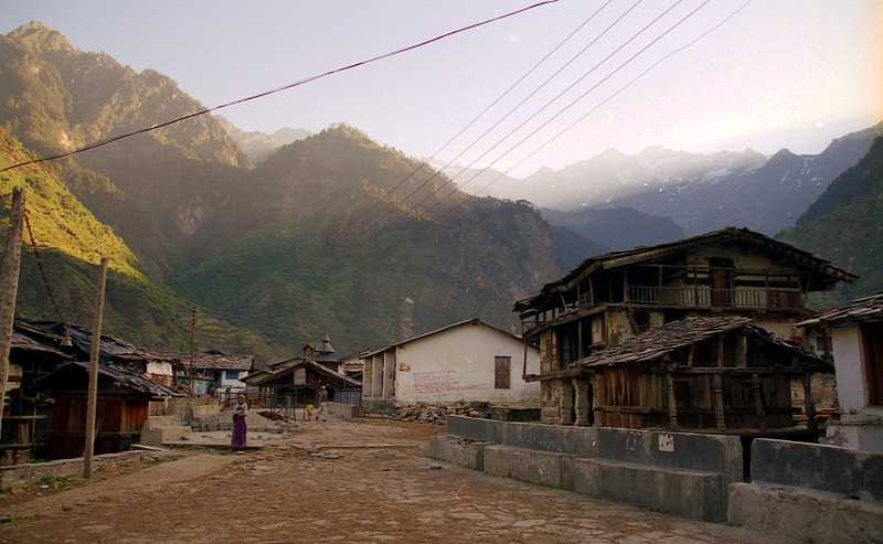 Kharsali Village Uttarakhand