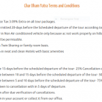 Char Dham Yatra Terms and Conditions
