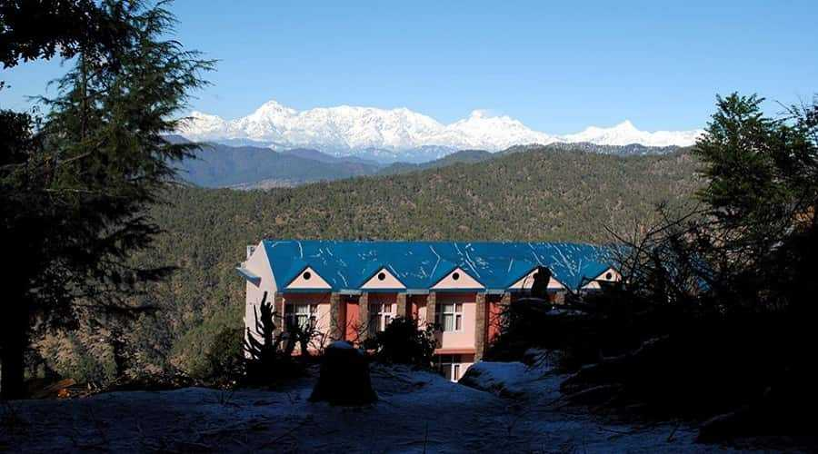 Himalaya View from Binsar