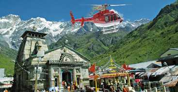 Kedarnath Helicopter Ticket Online Booking Cost Rs. 6,000/- Per Person