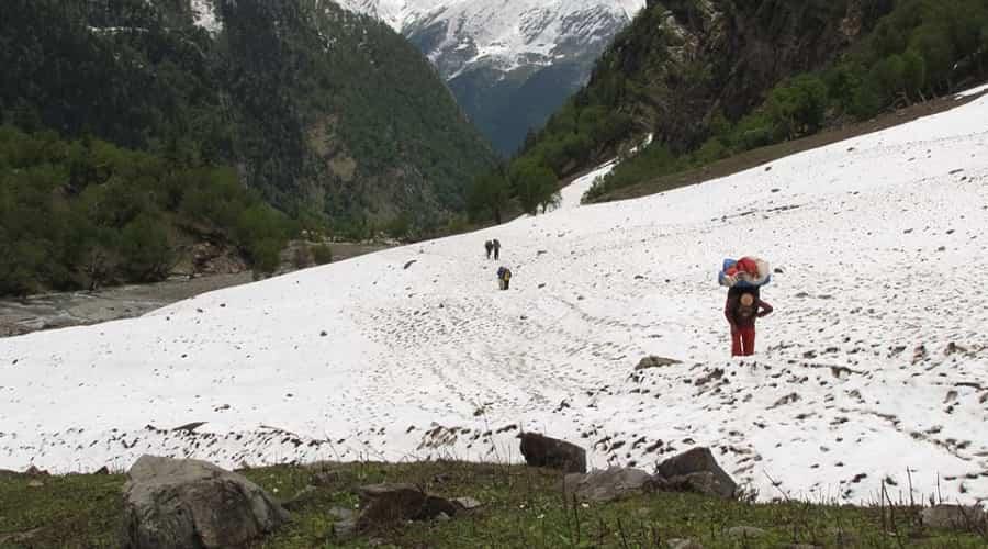 Trek from Harsil to Chitkul via Lamkhaga Pass