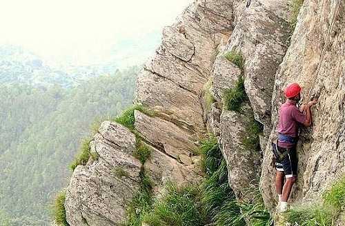 Mountain Climbing, Barkot