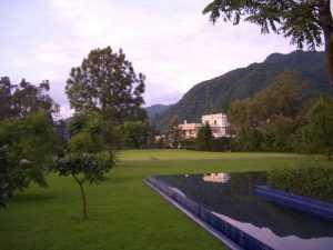 the Ananda spa