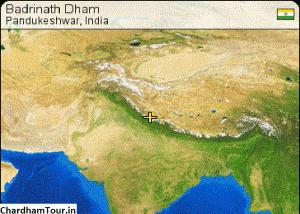 Badrinath Geography