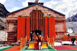 kedarnath opening ceremony