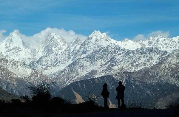 Panchchuli Peaks near Munsiyari