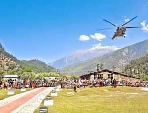 Harshil & Kharsali to have Helicopter service for Gangotri & Yamunotri