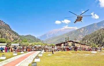 Harshil & Kharsali to have Helicopter service for Gangotri & Yamunotri