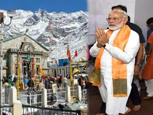 Prime Minister visits Kedarnath on 3rd May