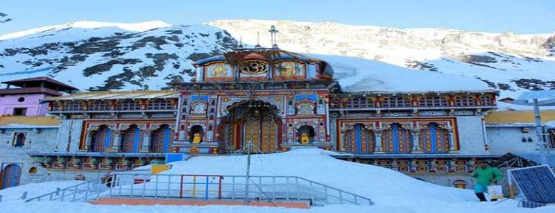 Badrinath During Winter