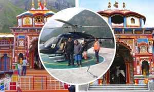 Badrinath Helicopter Yatra