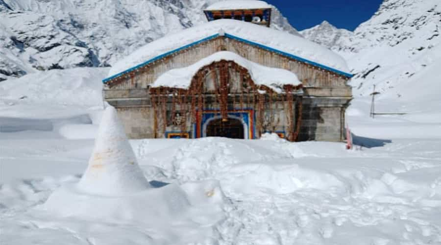 kedarnath snowfall 2019